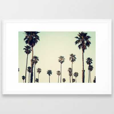 FRAMED ART PRINT.California - Society6