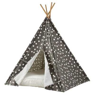 A Teepee & Cushion to Call Your Own Set - Speckled - Land of Nod