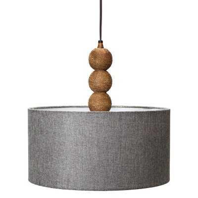 Rope Textured Plug-In Pendant Lamp - Target
