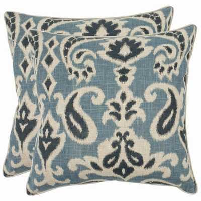 Safavieh Paisley Decorative Pillows (Set of 2) - Overstock