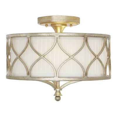 Tiffany 3-Light Semi-Flush Mount - Wayfair