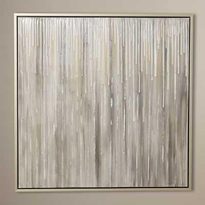 Drops Framed Painting on Canvas - Framed - Wayfair