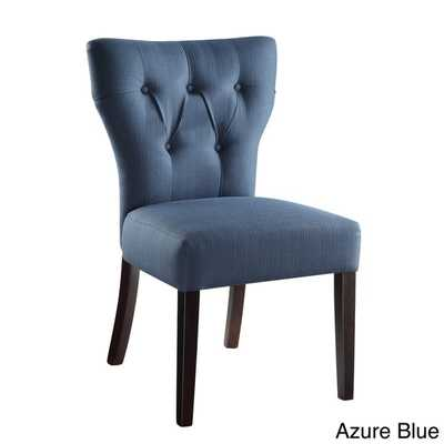 Ave Six Andrew Tufted Back Armless Chair - Overstock