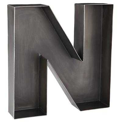 N Magnificent Metal Letter - Land of Nod