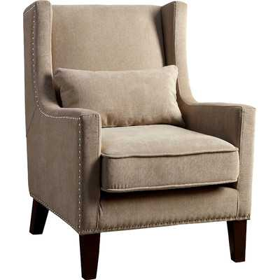 Marlow Wingback Arm Chair- Ivory - Wayfair