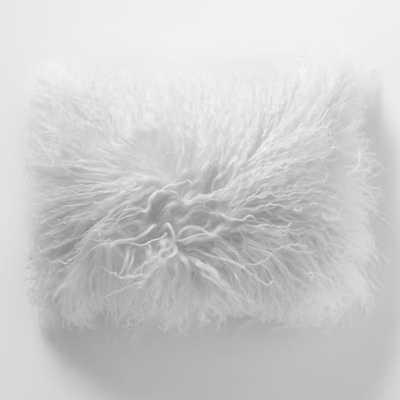 Mongolian Lamb Pillow Cover - West Elm