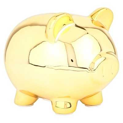 "Circoâ""¢ Gold Piggy Mini Coin Bank - Target"