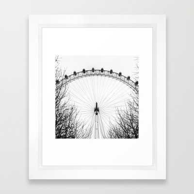 """London Eye - 10"""" x 12"""" - Framed - Society6"""