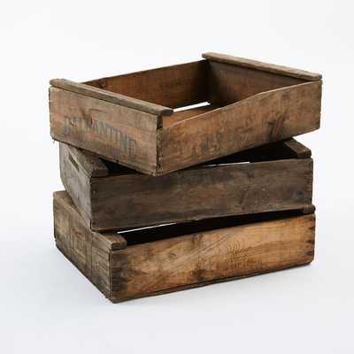 Found Fruit Crates - West Elm