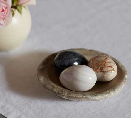 Marble Eggs, Set of 3 - Pottery Barn