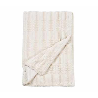 Luxe Embossed Throw Blanket - AllModern