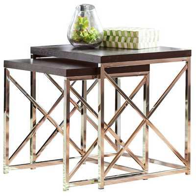 Rigel 2 Piece Nesting Table Set - AllModern