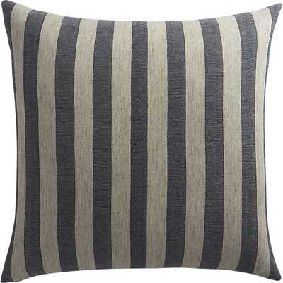 The Hill-Side  pillow - with down-alternative insert. - CB2