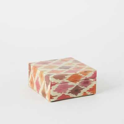 Neo Geo Decoupage Jewelry Boxes -Small Square - West Elm