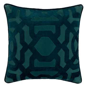 Modello Pillow, 22'', Cerulean - Feather/Down insert - Z Gallerie