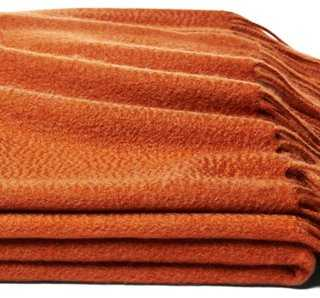 Solid Cashmere Throw - One Kings Lane