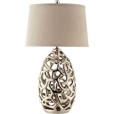 Ripley 1-light Metal Table Lamp - Overstock