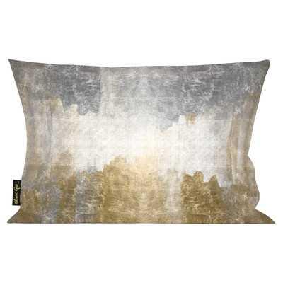 """Oliver Gal Home Amantes Lumbar Pillow - 14"""" H x 20"""" W - Polyester/Polyfill - Wayfair"""