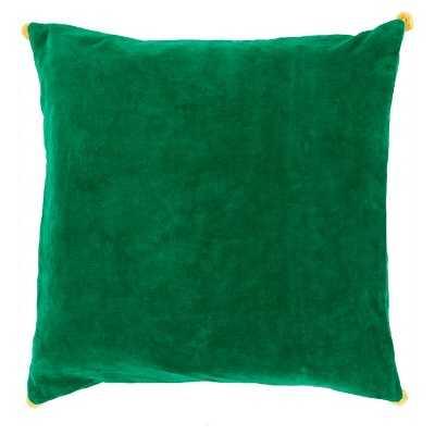Velvet Poms Toss Pillow - Target