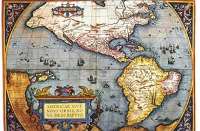 The Americas, 1587 Map by Abraham Ortelius - Photos.com by Getty Images