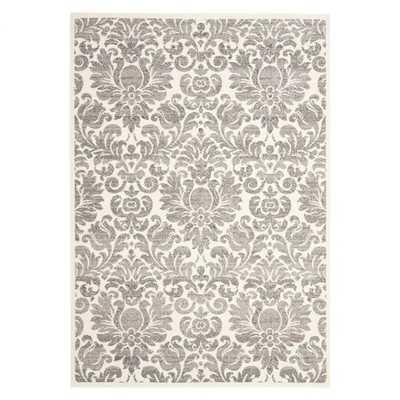 Porcello Grey & Ivory Area Rug - 5'3x7'7 - Wayfair