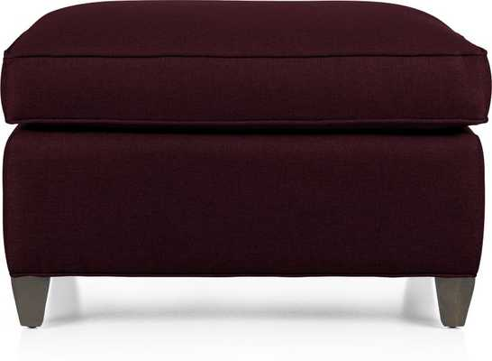 Dryden Ottoman - Crate and Barrel
