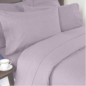 Solid Lilac 300 Thread Count Full/Queen Size 3PC Duvet Cover Set - Amazon