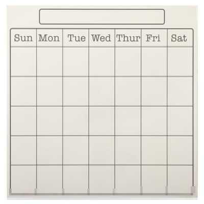 Calendar - Pottery Barn Teen