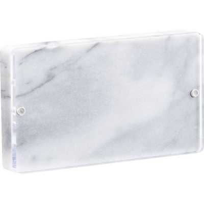 marble 4x6 picture frame - Domino