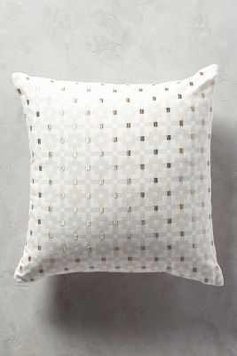 Geo-Block Pillow - Anthropologie