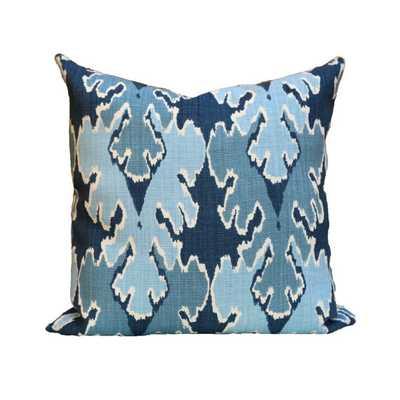 Kelly Wearstler Bengal Bazaar Designer Pillow Cover in Teal - 1 side 20 x 20 - Etsy