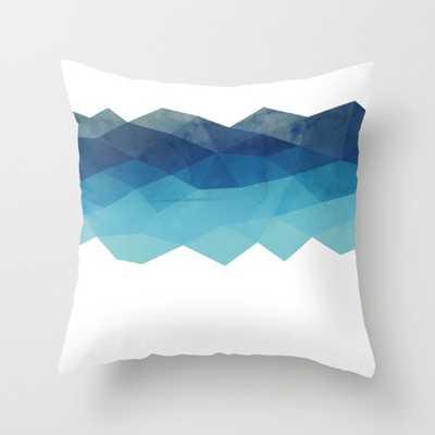 Fractal blue geometry - Society6