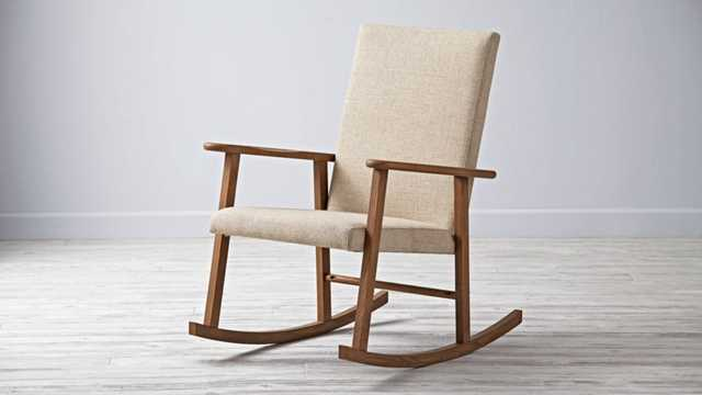 Mid-Century Rocking Chair - Land of Nod