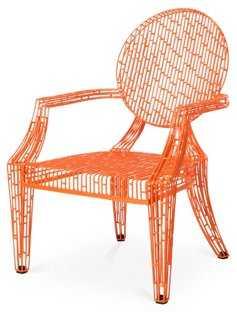 Urban Louie Chair, Orange - One Kings Lane
