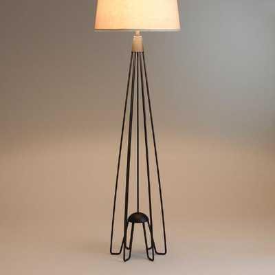 Iron Hairpin Kent Floor Lamp Base - World Market/Cost Plus