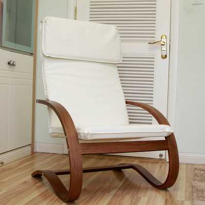 Faux Leather Lounge Chair - Wayfair