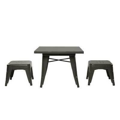 Lemonade 3 Piece Table & Stool Set - AllModern