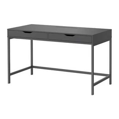 ALEX Desk, gray - Ikea