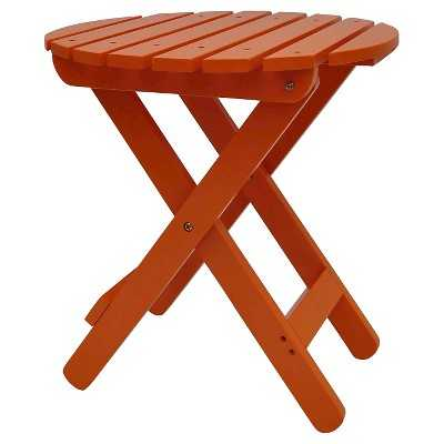 Adirondack Folding Patio Accent Table - Target