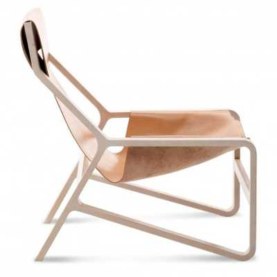 Toro Lounge Chair-Natural - BluDot