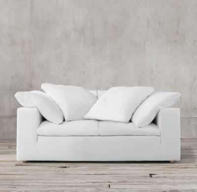 6' Cloud Track Arm Two-Seat-Cushion Sofa - RH