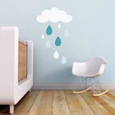 Cloud Wall Decal - Etsy