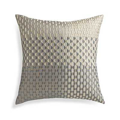 "Nikolai 18"" Pillow with Feather-Down Insert - Crate and Barrel"