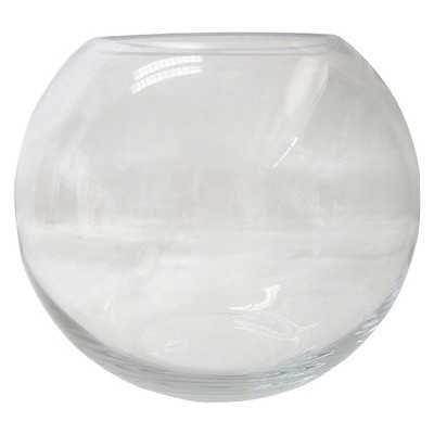 "Thresholdâ""¢ Small Rounded Clear Glass Vessel - Target"