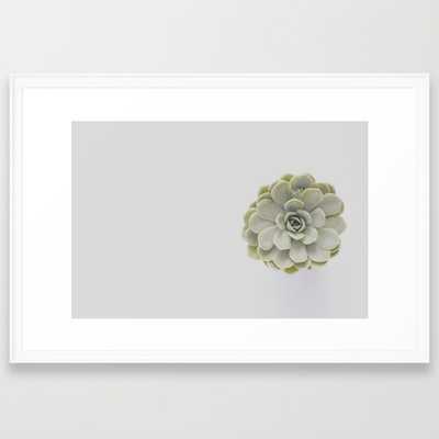 "succulent 01 - 38"" X 26"" - framed - Society6"