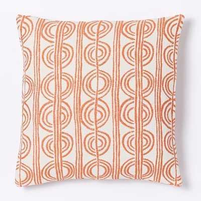 Circle Stripe Pillow Cover - West Elm
