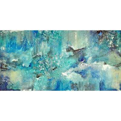 """Dream Graphic Art on Wrapped Canvas - 30"""" H x 60"""" W - Unframed - Wayfair"""