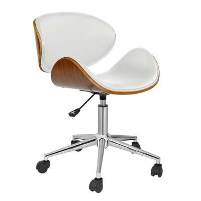 Rylan Mid-Back Office Chair-White - Wayfair