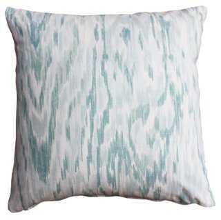 Cascade Cotton Pillow - One Kings Lane