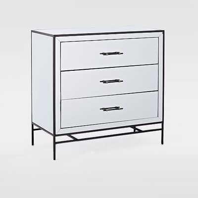 Mirrored 3-Drawer Dresser - West Elm